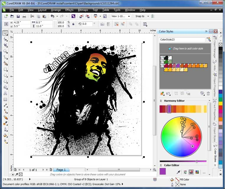 Corel Draw, otra potente alternativa vectorial