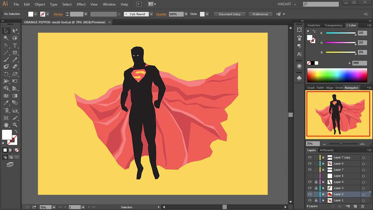 Adobe Illustrator is one of the most commonly used vector image editors, possibly the most used one