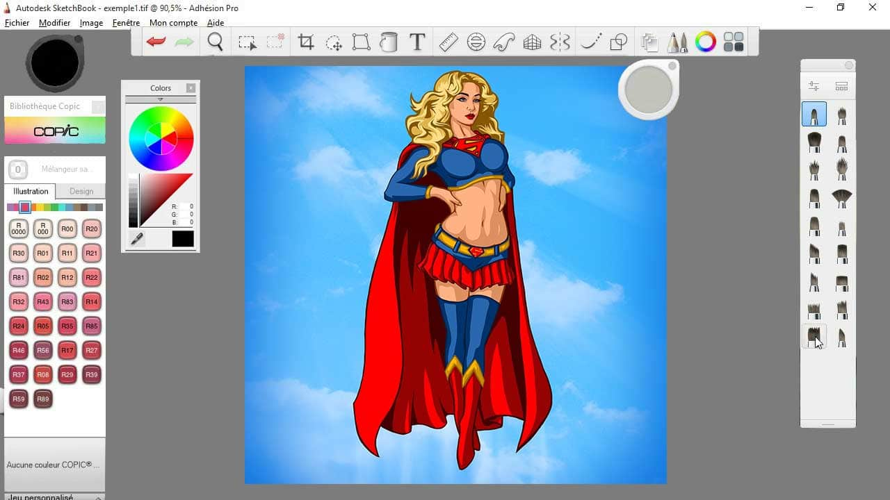 Sketchbook pro, another great drawing program