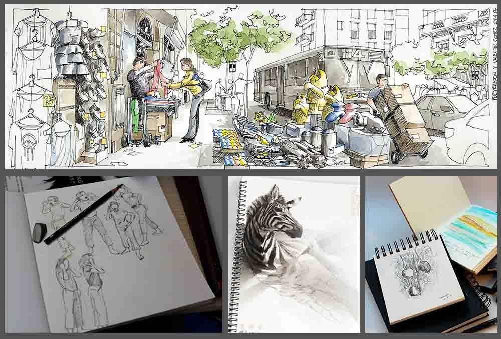 El Kit De Materiales De Dibujo Que Te Permitirá Dibujar En Todas Partes
