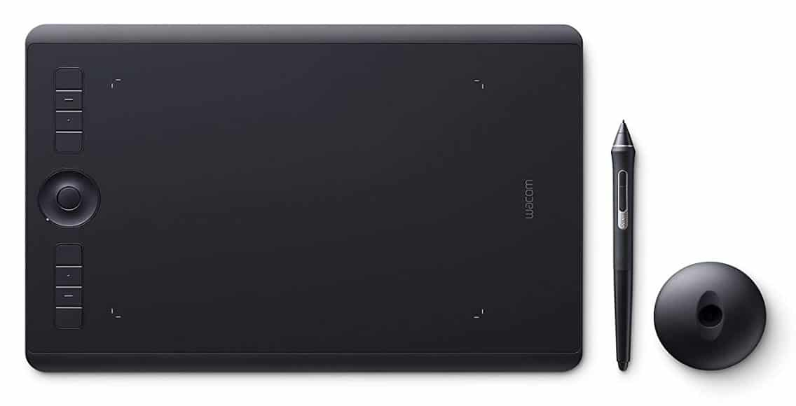 Wacom Intuos Pro M professional drawing tablet