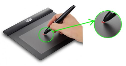 Precisión de una tableta gráfica