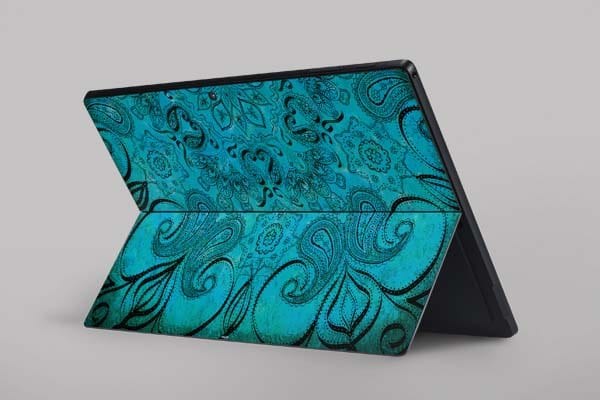 skin para personalizar microsoft surface pro blue zen