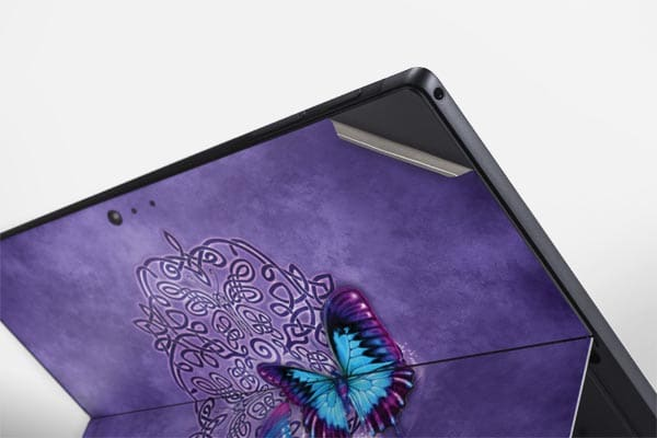 skin para personalizar microsoft surface pro butterfly