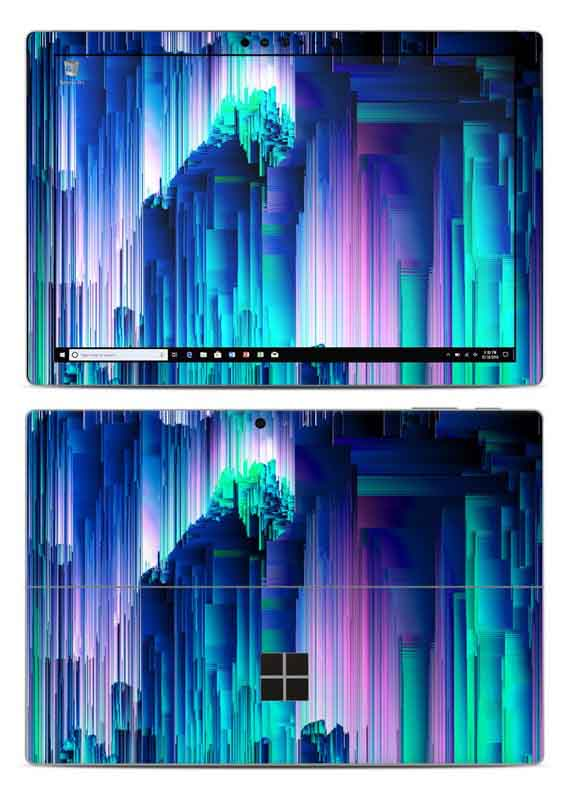 skin para personalizar microsoft surface pro glitchtrip