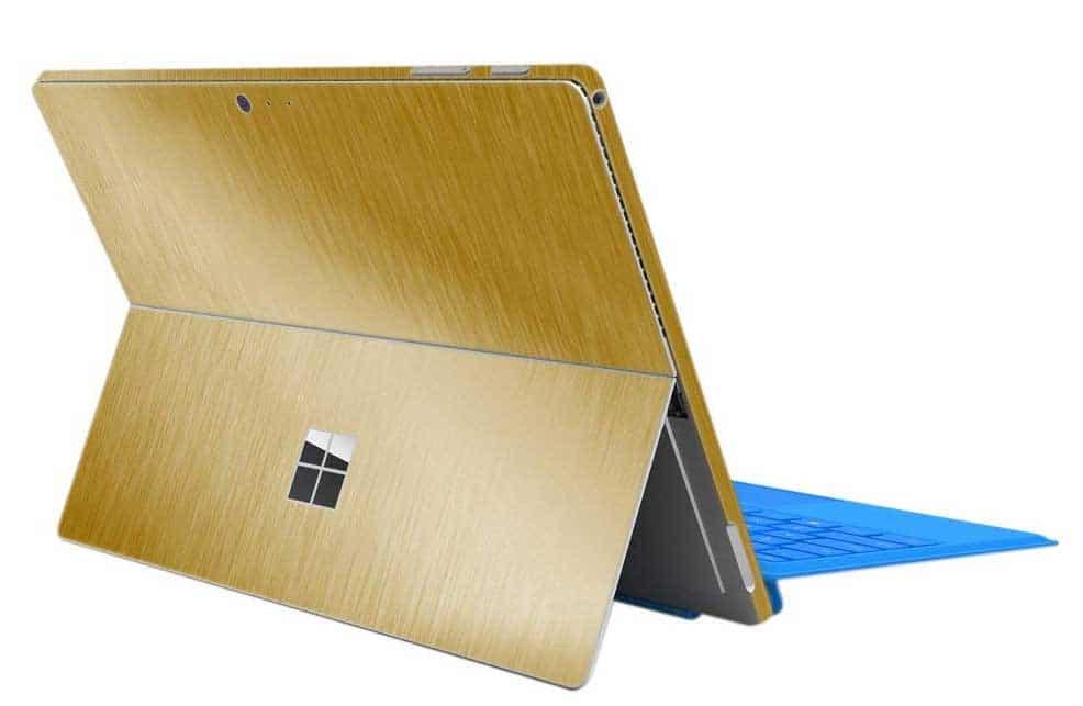 skin para personalizar microsoft surface pro madera
