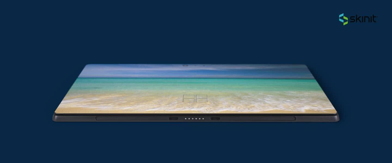 skin para personalizar microsoft surface pro turquoise