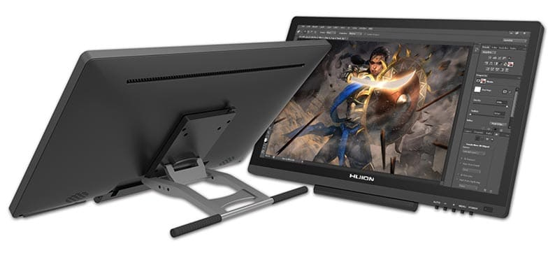 Huion GT-191 HD front and back