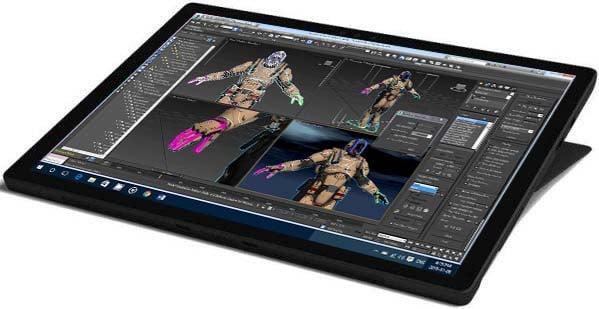 3D Studio Max en Surface Pro 6
